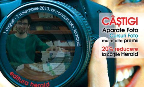 Editura Herald lanseaza campania Te asteptam in librarie