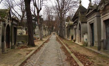 Cimitirul Pere Lachaise din Paris