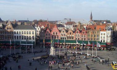 Piata Centrala din Bruges