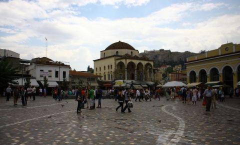 Cartierul Monastiraki din Atena
