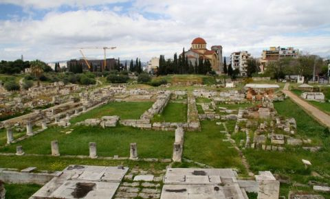 Cimitirul Kerameikos din Atena