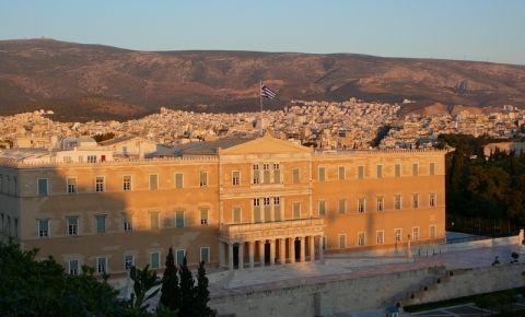 Piata Syntagma din Atena