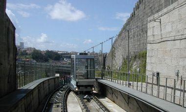 Funicularul Guindais din Porto