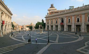 Piata Capitoliului din Roma