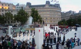 Piata Trafalgar Square din Londra