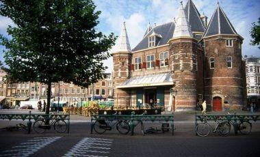 Cladirea Waag din Amsterdam