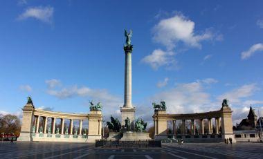 Piata Eroilor din Budapesta