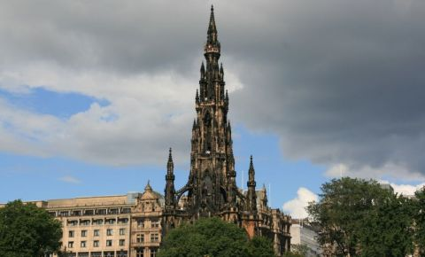 Monumentul Scott din Edinburgh