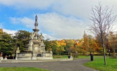 Parcul Kelvingrove din Glasgow