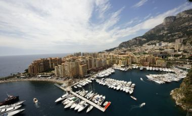 Portul Fontvieille din Monaco