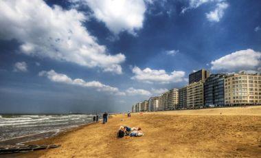 Pontonul si Plajele din Oostende