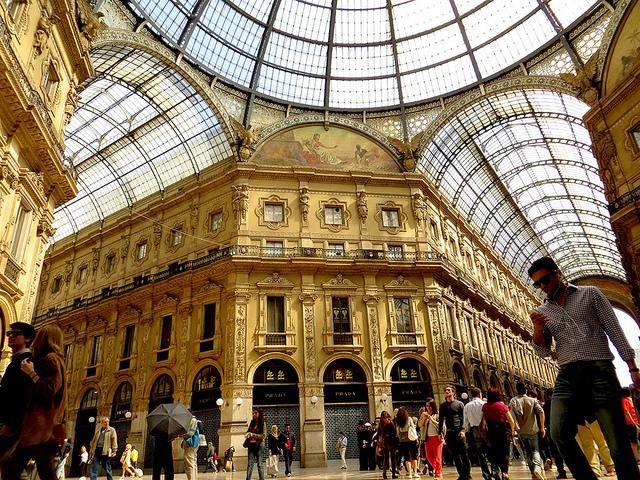 Galeria Vittorio Emanuele, Milano