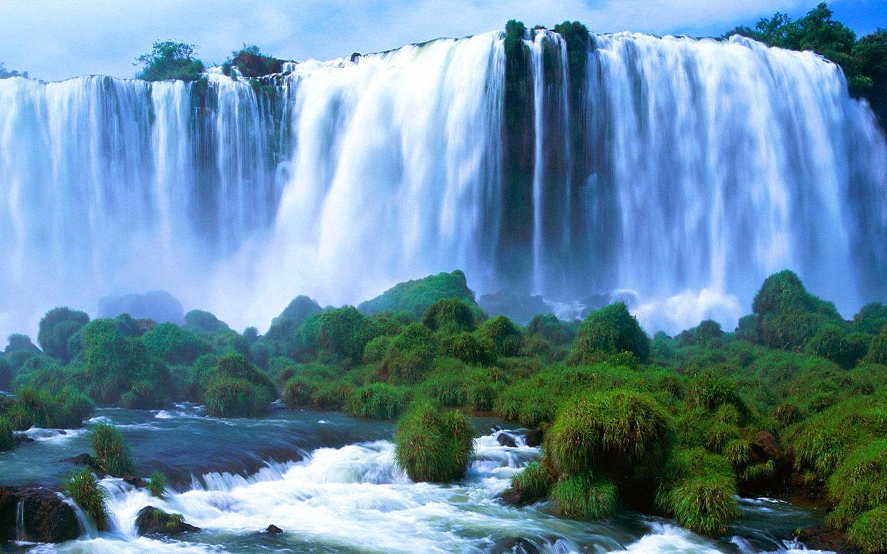 Cascada Victoria din Zambia