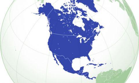 Steagurile tarilor din America de Nord