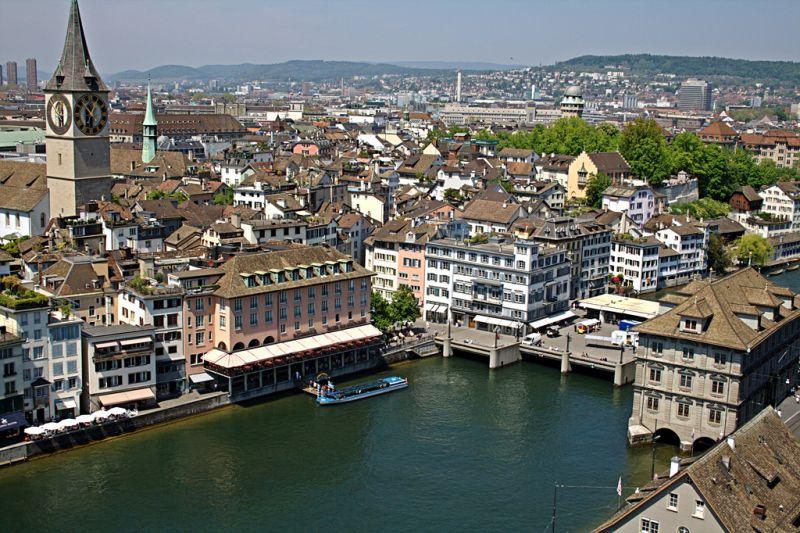 Petrecerea timpului liber in Zurich