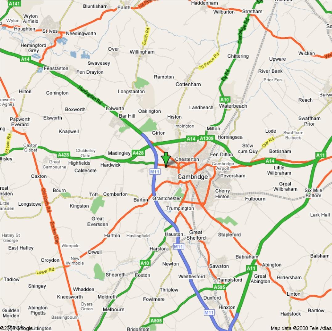 Harta Cambridge