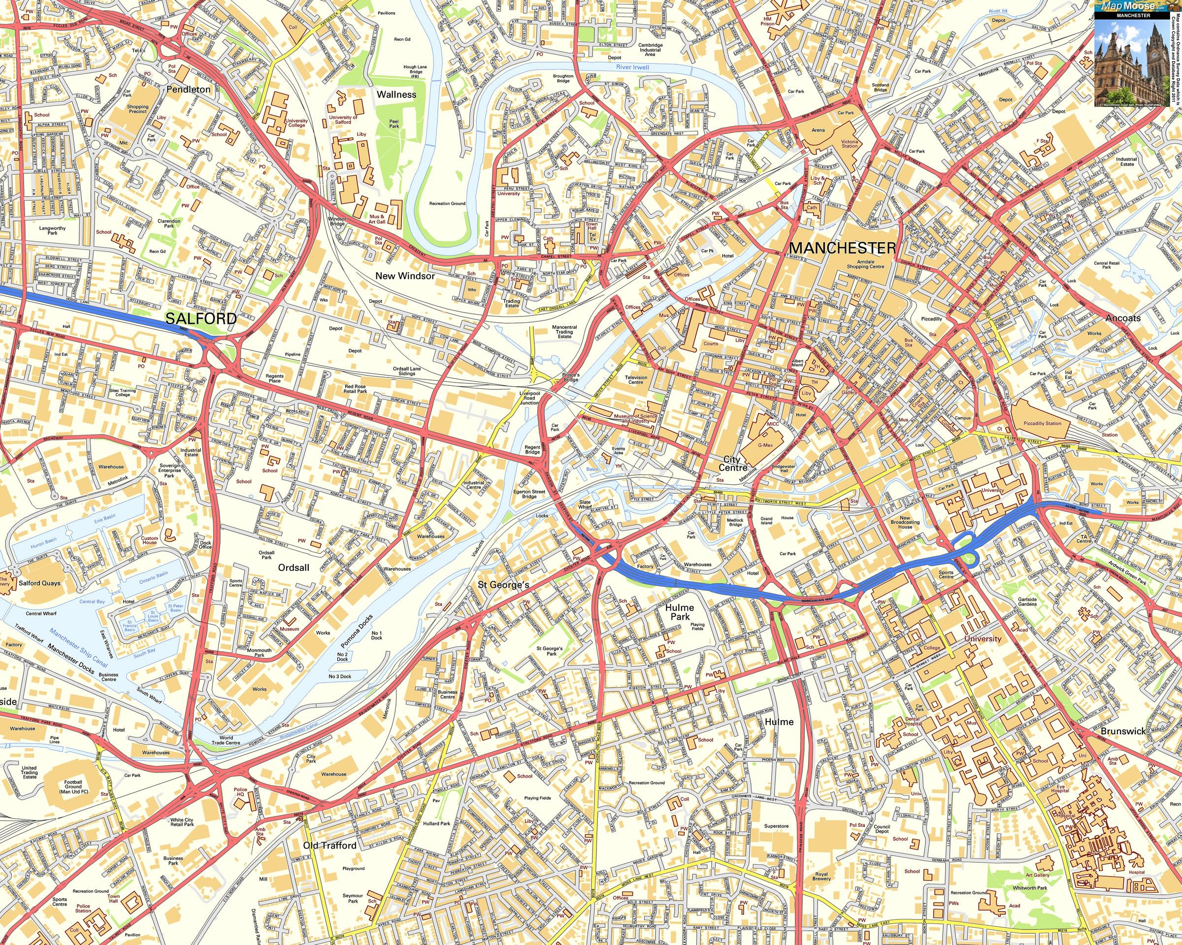 Harta Manchester