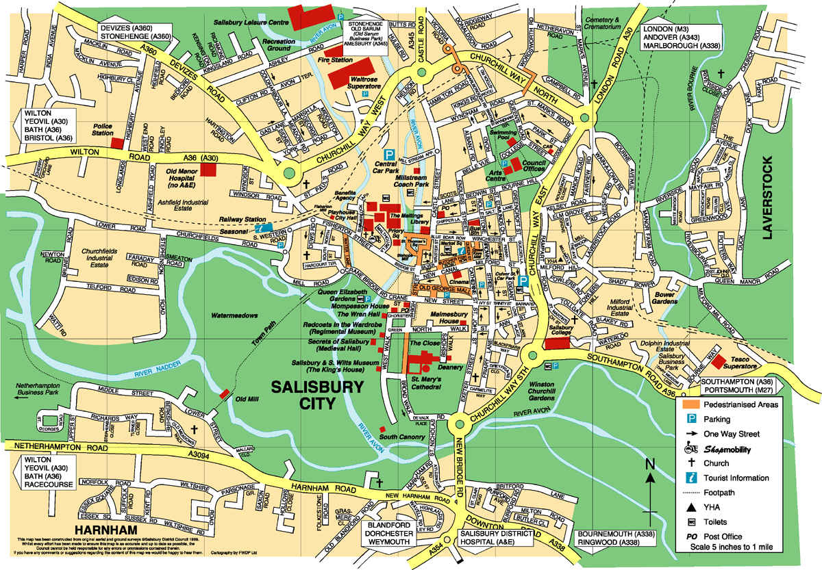 Harta Salisbury