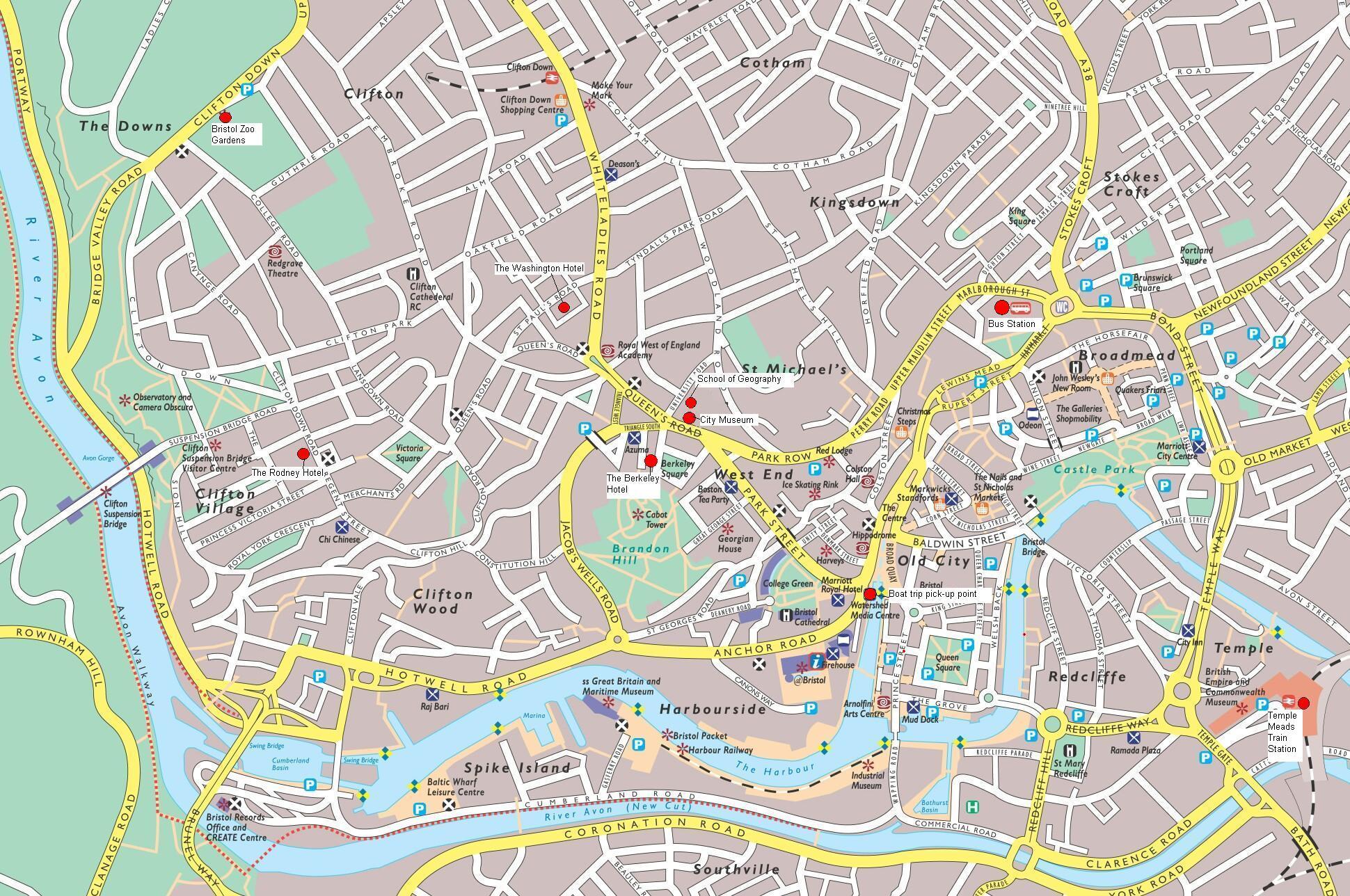 Harta Bristol