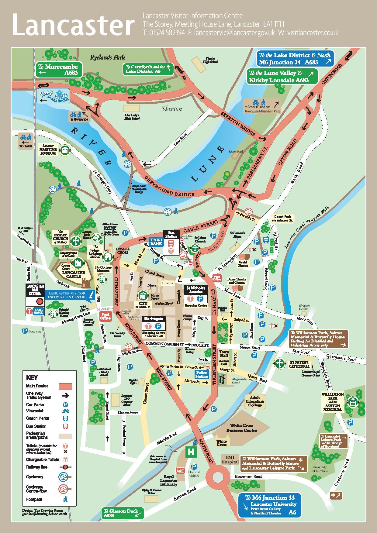 Harta Lancaster