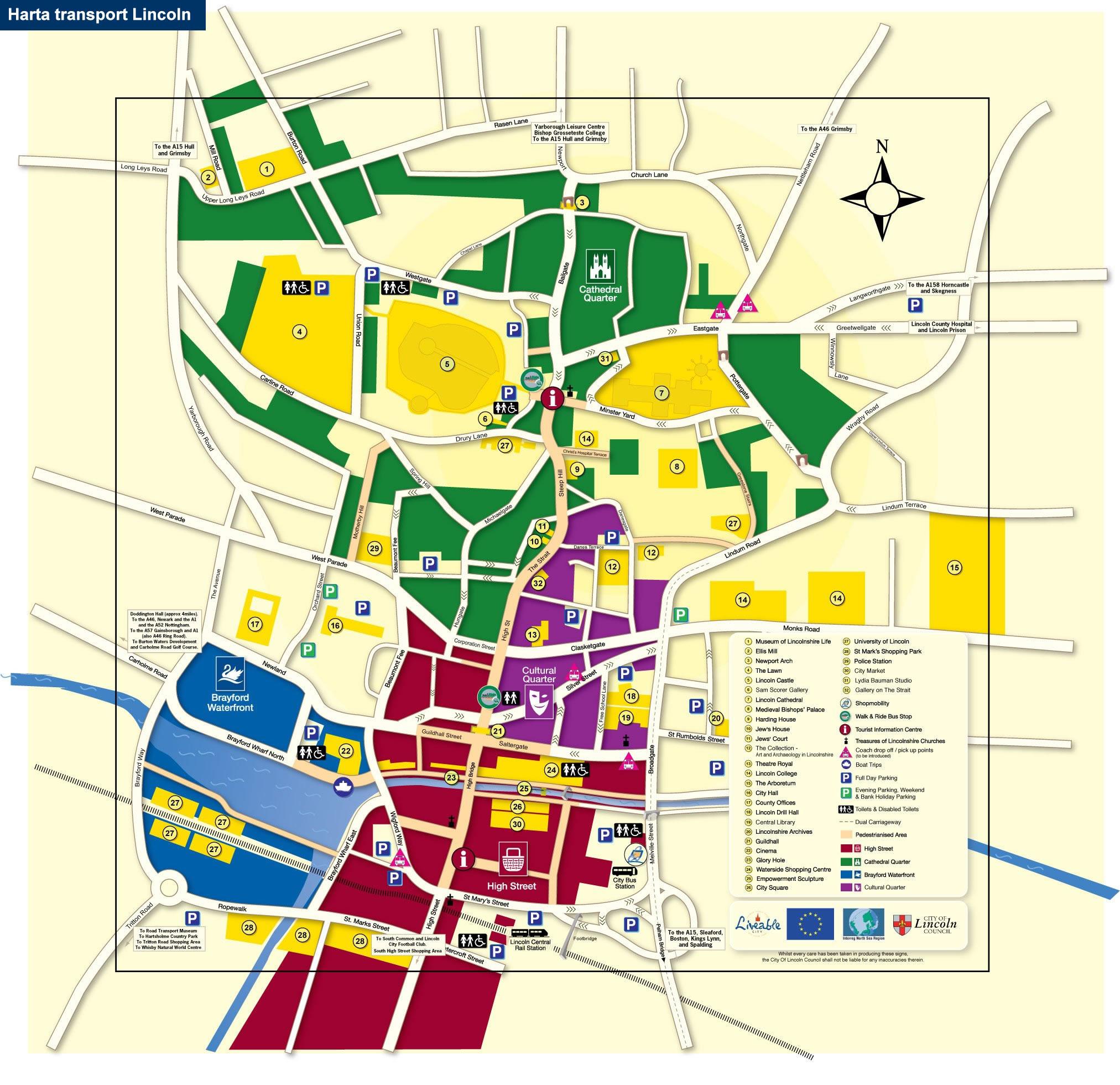 Harta Lincoln