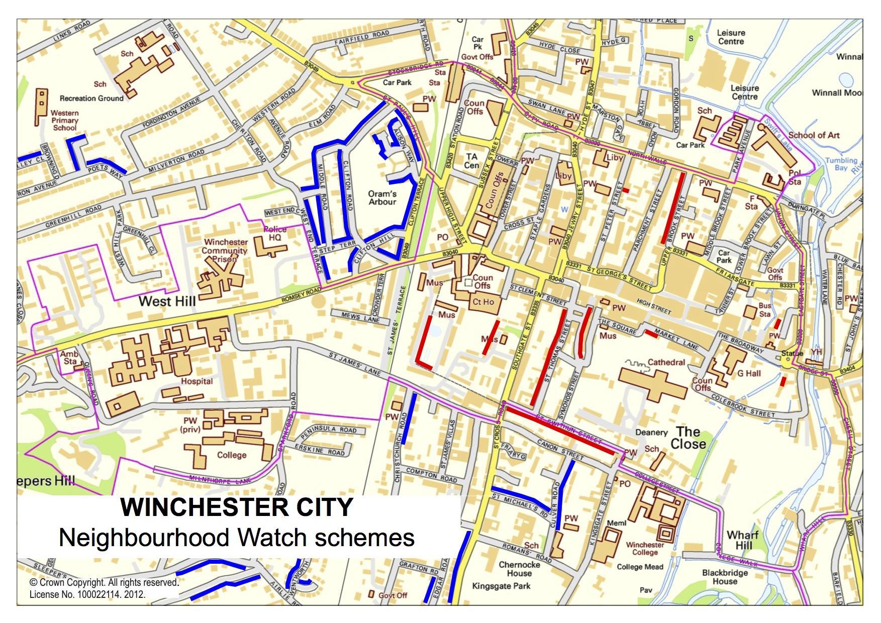 Harta Winchester