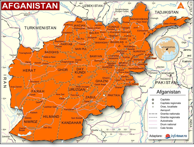 Harta Afganistan