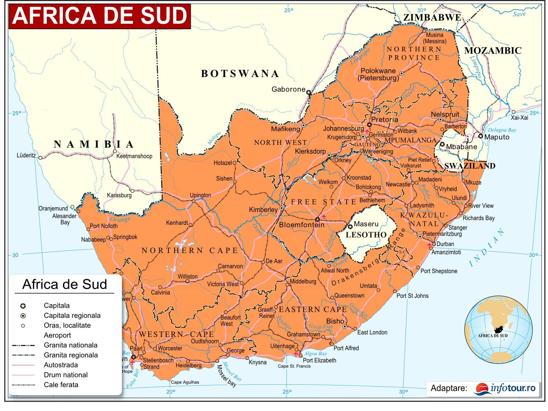Harta Africa de Sud