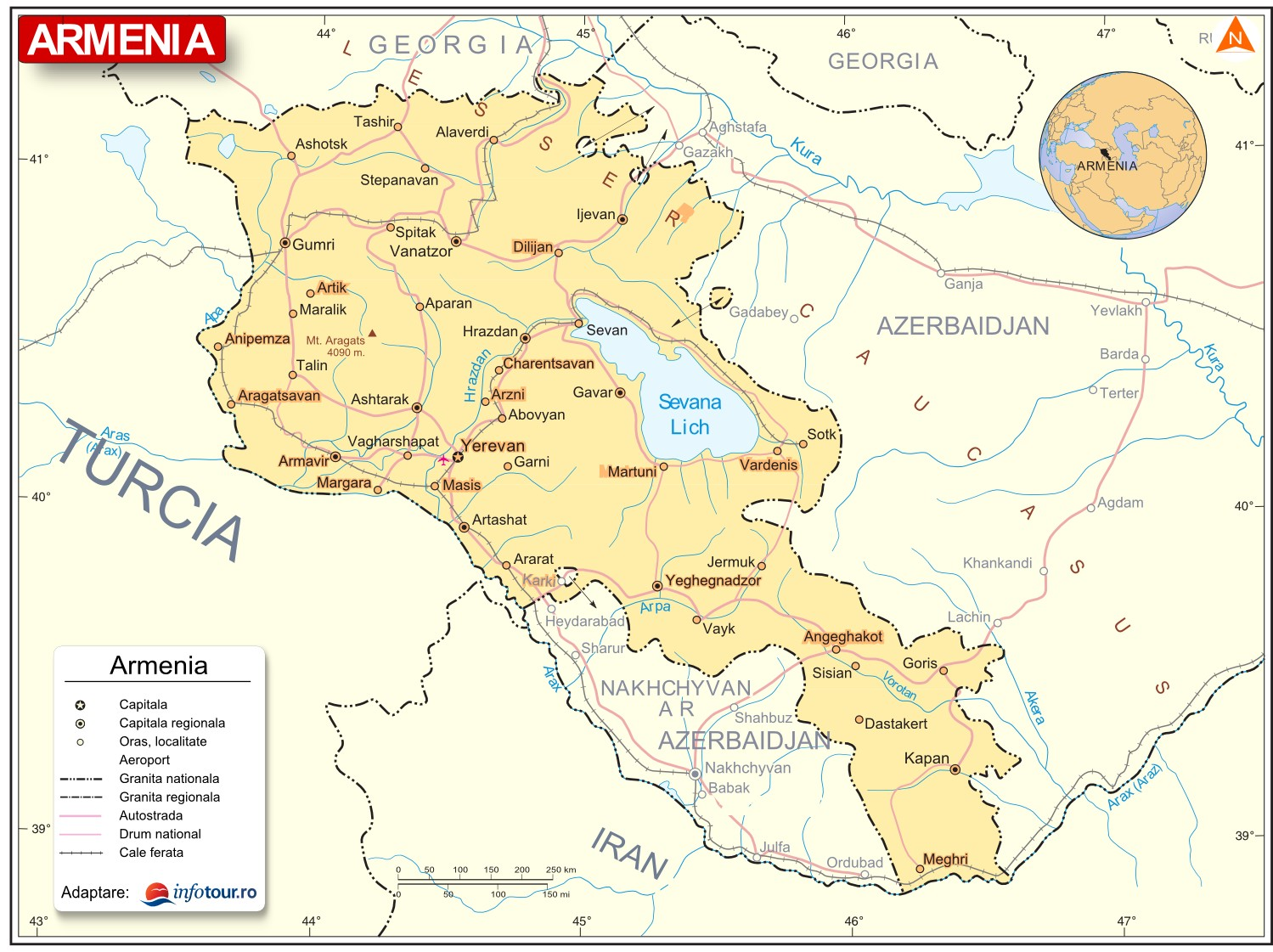 Harta Armenia