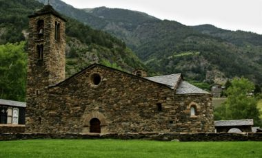 Biserica Sfantul Martin de la Cortinada din Ordino