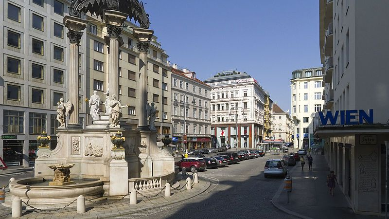 Imagini pentru viena Hoher Markt