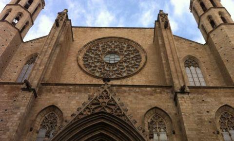 Bazilica Santa Maria del Mar din Barcelona