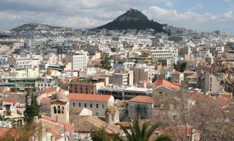 Cartierul Plaka din Atena