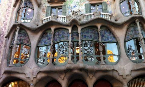 Casa Batllo din Barcelona