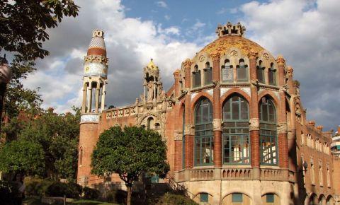 Hospital de la Santa Creu i Sant Pau din Barcelona
