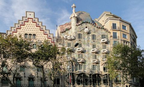 La Manzana de la Discordia din Barcelona