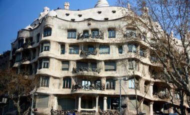 Casa Mila din Barcelona