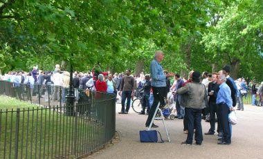 Coltul Vorbitorilor din Londra