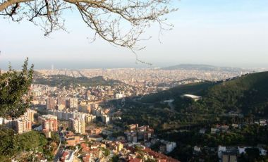 Dealul Tibidabo din Barcelona