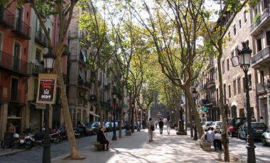 Districtul Ciutat Vella din Barcelona