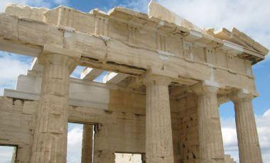 Poarta Propylaea din Atena