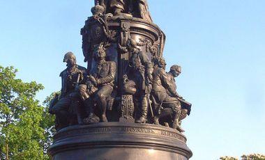 Statuia Ecaterinei cea Mare din Sankt Petersburg
