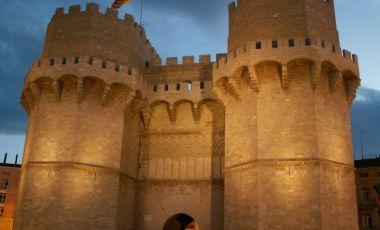 Turnurile Serranos din Valencia