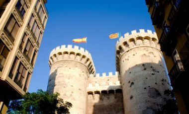 Turnurile Torres de Quart din Valencia