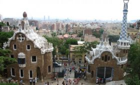 Parcul Guell din Barcelona