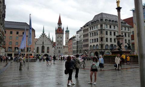 Piata Marienplatz din Munchen