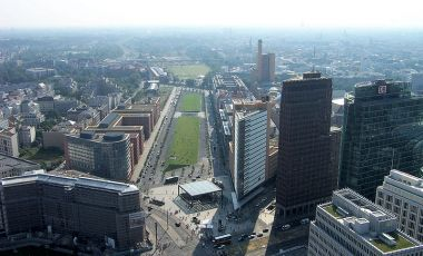 Piata Potsdamer Platz din Berlin