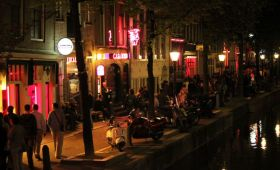 Cartierul Rosu din Amsterdam