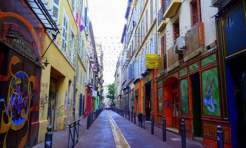 Strada Le Cours Joulien din Marsilia