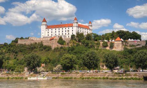 Castelul din Bratislava (panorama)